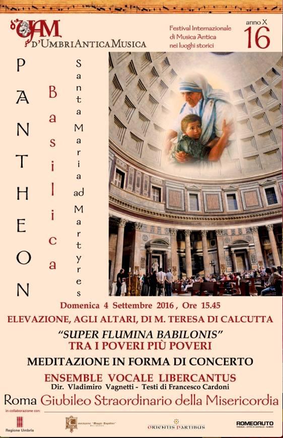 Libercantus al Pantheon 2016