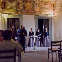 LIbercantus a Palazzo degli Oddi per la Mezzanotte Bianca della Lauda Perugia